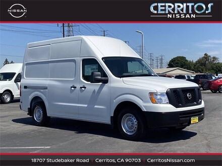 2021 Nissan NV Cargo NV2500 HD S V6 Van High Roof Cargo Van