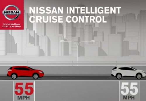 Nissan Intelligent Cruise Control How To