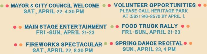 Cerritos Spring Festival Dates & Activities