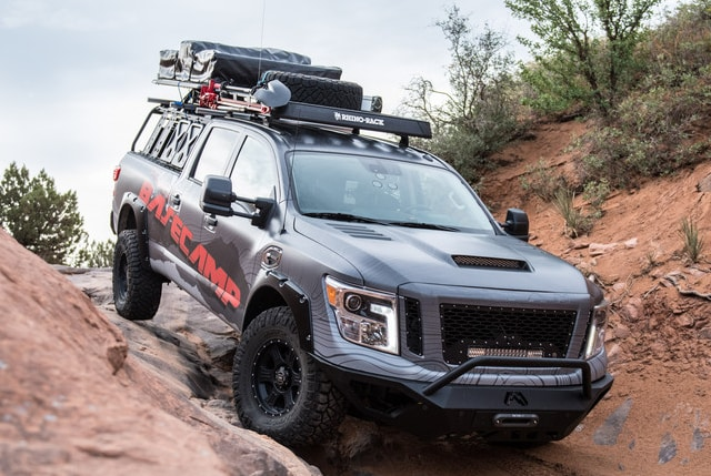 Nissan TITAN XD Project Basecamp