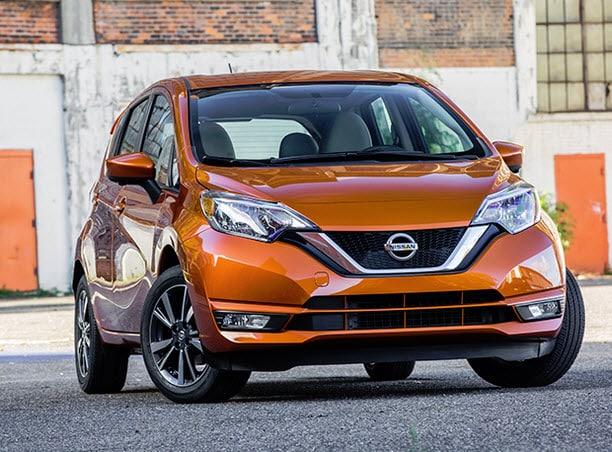 2017 Nissan Versa Note exterior changes
