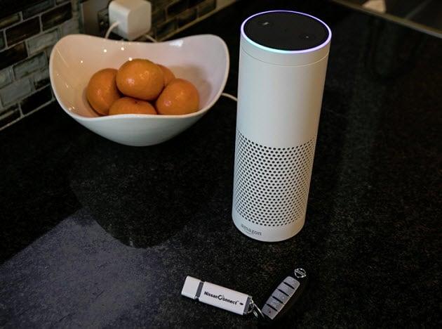 NissanConnect Services Amazon Alexa integration