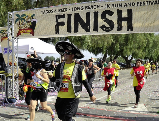 Tacos & Beer 5K Run and Festival in Long Beach