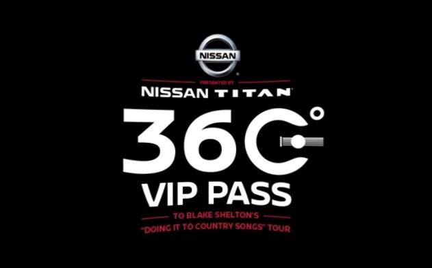 Nissan Titan 360 V I P pass