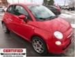 2012 Fiat 500 Pop ** 5 SPEED, A/C, LOW KM ** Coupe