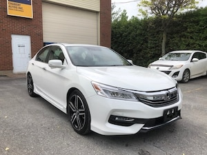 2017 Honda Accord Sedan TOURING  * CUIR * TOIT OUVRANT * NAVIGATION *