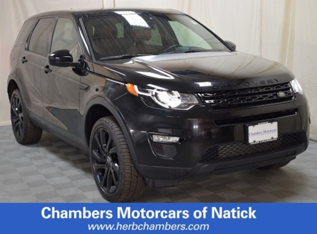 Used 2016 Land Rover Discovery Sport HSE LUX Sport Utility in Boston