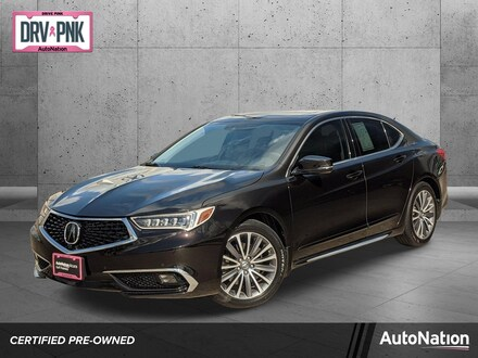 2018 Acura TLX w/Advance Pkg Sedan