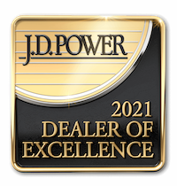 2021 JD Power Dealer of Excellence Award