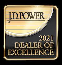2021 JD Power Dealer of Excellence Award