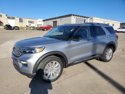 Featured New 2021 Ford Explorer Limited Limited 4WD for Sale in Carroll, IA