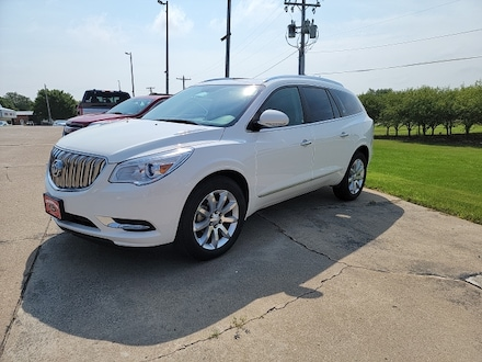 Featured Used 2013 Buick Enclave Premium AWD  Premium 5GAKVDKD0DJ264614 for Sale in Carroll, IA