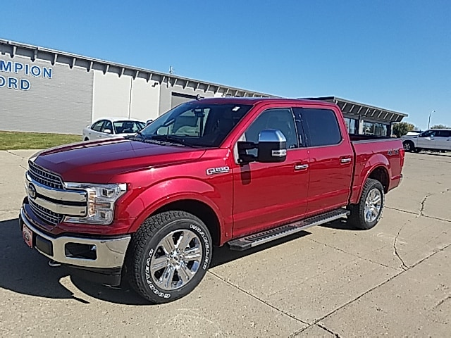 Featured New 2019 Ford F-150 4WD SuperCrew 145 Lariat for Sale in Carroll, IA