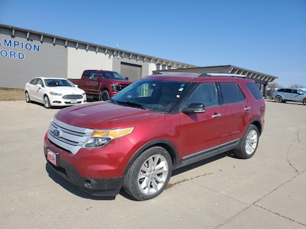 Featured Used 2013 Ford Explorer XLT FWD  XLT 1FM5K7D80DGA97346 for Sale in Carroll, IA