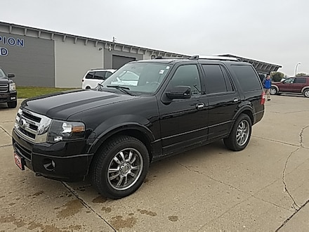 Featured Used 2013 Ford Expedition Limited 4WD  Limited 1FMJU2A50DEF11999 for Sale in Carroll, IA