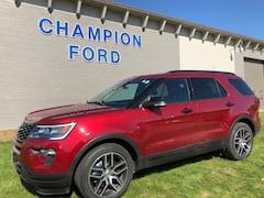 Used 2018 Ford Explorer Sport Sport 4WD 1FM5K8GT7JGA86040 for Sale in Carroll, IA