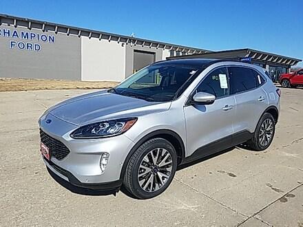 Featured New 2020 Ford Escape Titanium Titanium AWD for Sale in Carroll, IA