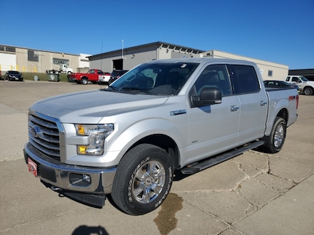 Featured Used 2017 Ford F-150 4WD  XLT 1FTEW1EP5HKE15752 for Sale in Carroll, IA