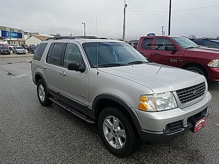 Featured Used 2002 Ford Explorer XLT 114 WB XLT 4WD 1FMZU73E12UC43366 for Sale in Carroll, IA