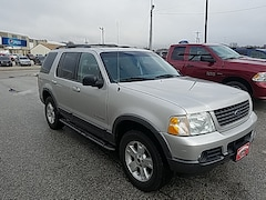 Bargain Used 2002 Ford Explorer XLT 114 WB XLT 4WD 1FMZU73E12UC43366 for Sale in Carroll, IA