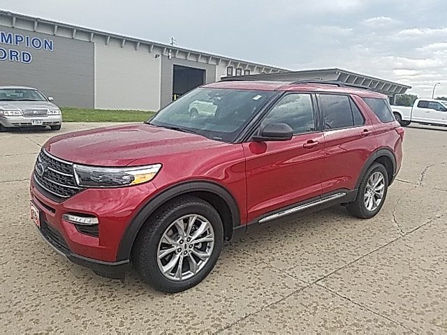 Featured Used 2020 Ford Explorer XLT XLT 4WD 1FMSK8DH5LGA39370 for Sale in Carroll, IA