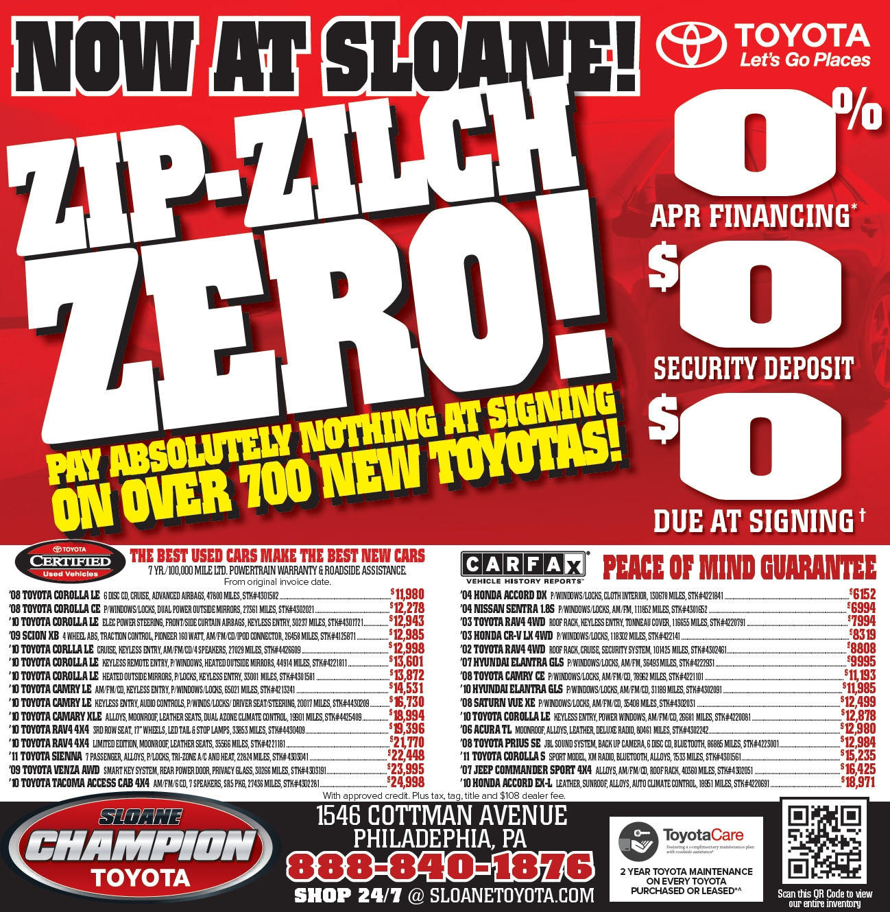 Check out what we have going on this month! | Sloane Toyota