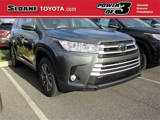 New 2019 Toyota Highlander XLE SUV for sale Philadelphia