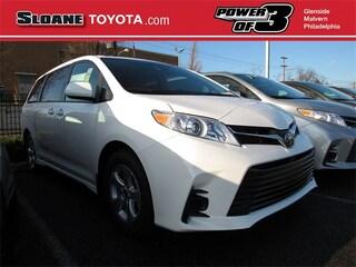 New 2020 Toyota Sienna LE 8 Passenger Van Philadelphia
