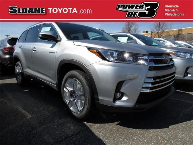 Sloane Toyota Of Philadelphia >> New Toyota Highlander Inventory Philadelphia Sloane Toyota Of