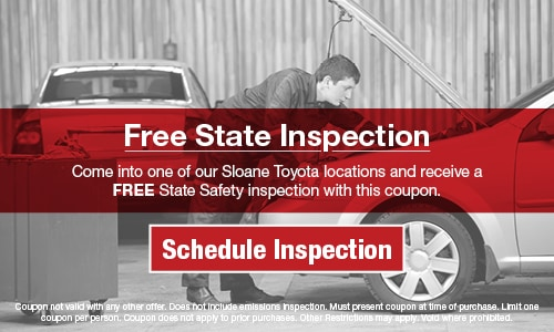 Sloane Toyota Of Philadelphia >> Toyota Service Repair Specials Coupons Discounts At