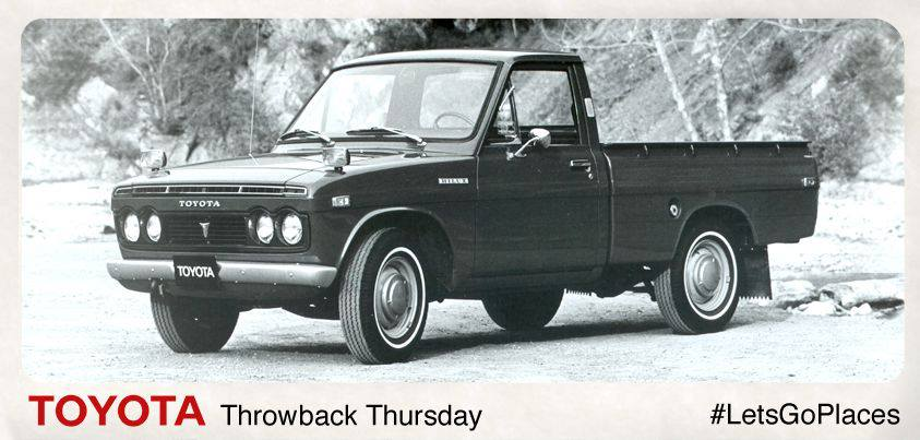 Throwback Thursday: The 1970s Hi-Lux truck: strong ...