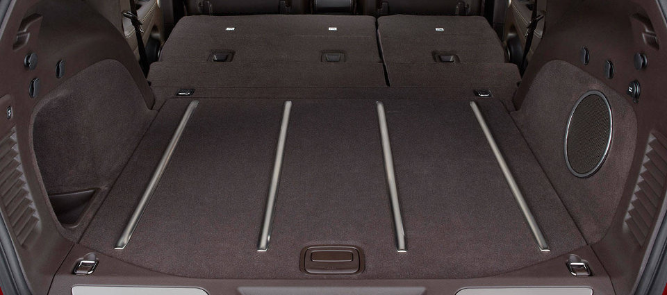 2017 Jeep Grand Cherokee Storage Space