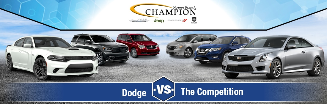 Dodge versus the competition