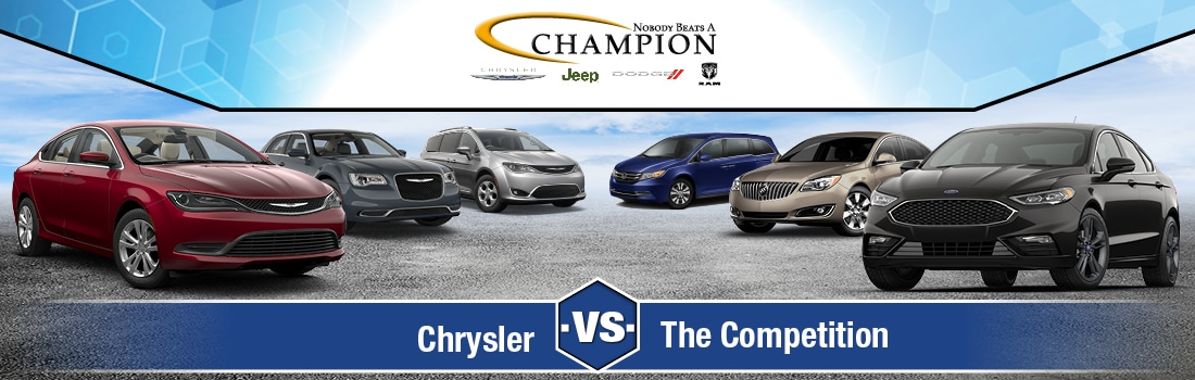 Chrysler versus the competition