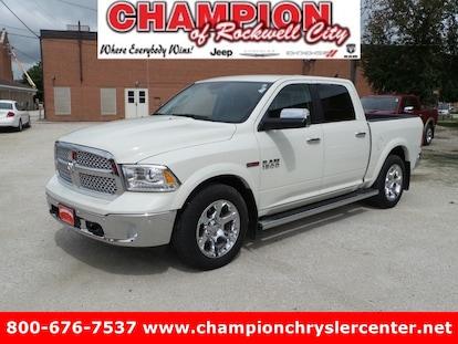 Champion Chrysler Dodge Jeep Ram >> Used 2016 Ram 1500 Laramie For Sale Rockwell City Ia