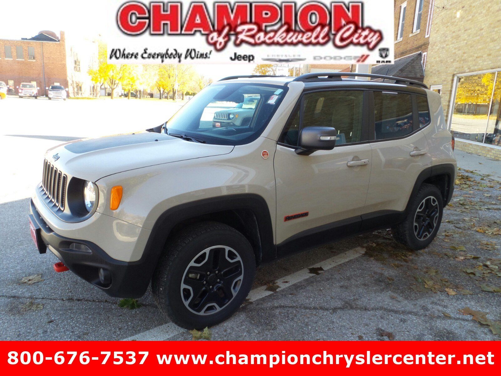 2016 Jeep Renegade Trailhawk 4WD  Trailhawk