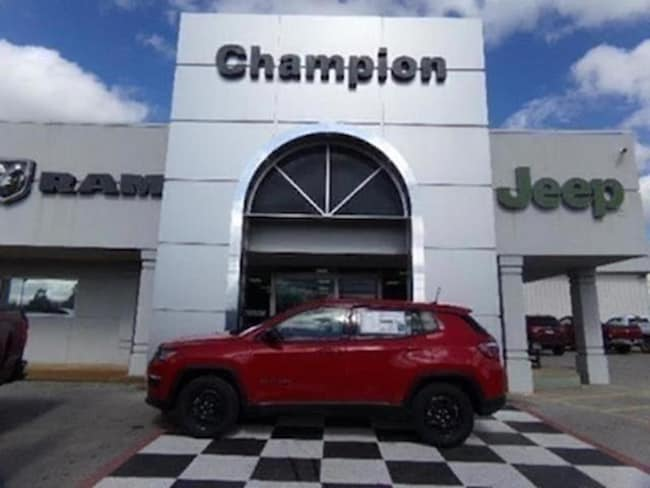 New 2018 Jeep Compass SPORT FWD Sport Utility for sale in Athens, AL