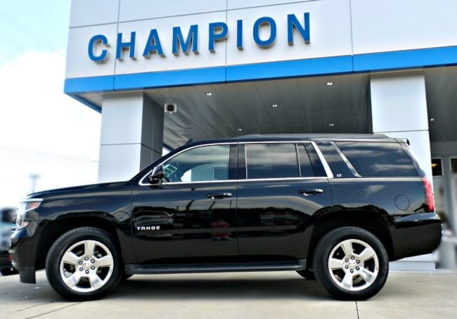 Used 2016 Chevrolet Tahoe LT SUV for sale in Athens, AL