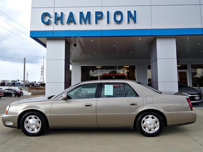 Used 2002 CADILLAC DEVILLE For Sale at Champion Auto Group
