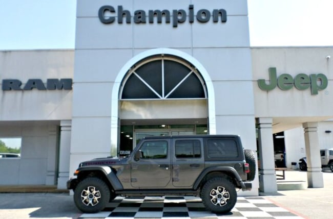 New 2019 Jeep Wrangler UNLIMITED RUBICON 4X4 Sport Utility for sale in Athens, AL
