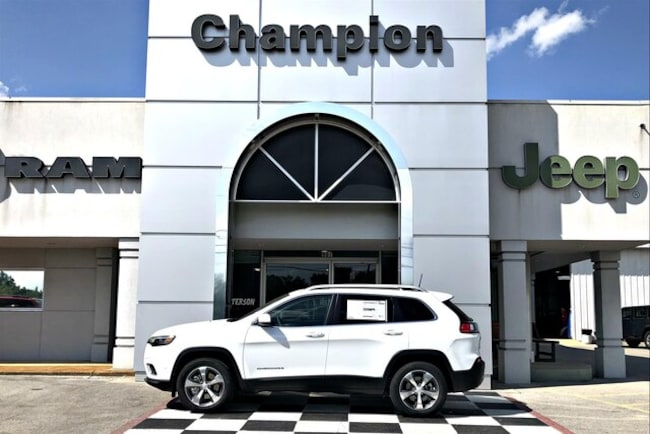 New 2019 Jeep Cherokee LIMITED 4X4 Sport Utility for sale in Athens, AL