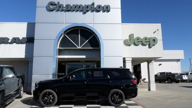 New 2019 Dodge Durango SXT PLUS RWD Sport Utility for sale in Athens, AL