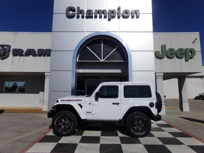 New 2019 Jeep Wrangler RUBICON 4X4 Sport Utility for sale in Athens, AL