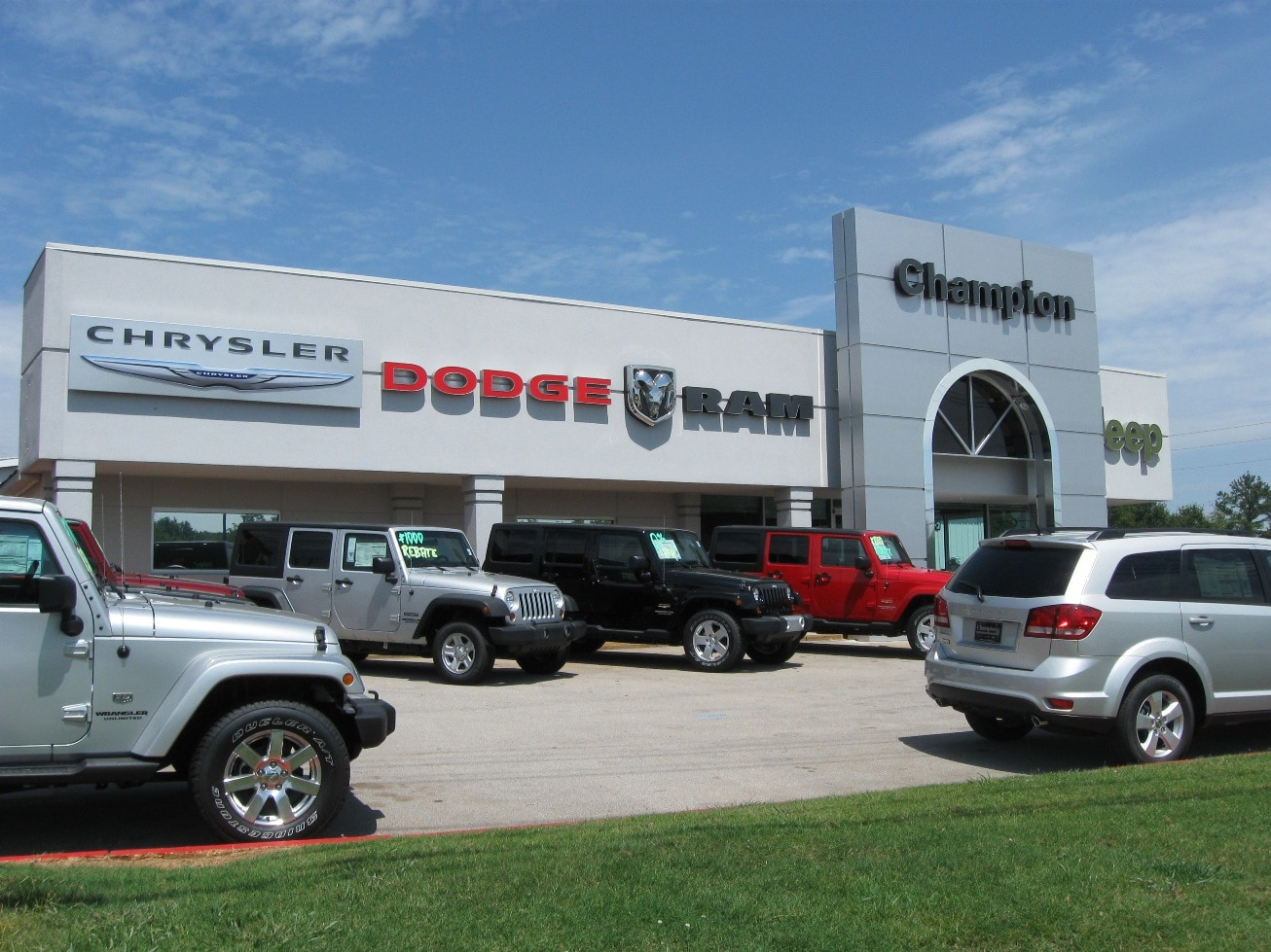 Welcome To Champion Chrysler Dodge Jeep RAM, Where Alabama Drivers Find  Top Notch Service