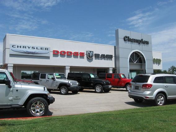 Champion Chrysler Dodge Jeep Ram >> About Champion Chrysler Dodge Jeep New 2017 2018 Chrysler
