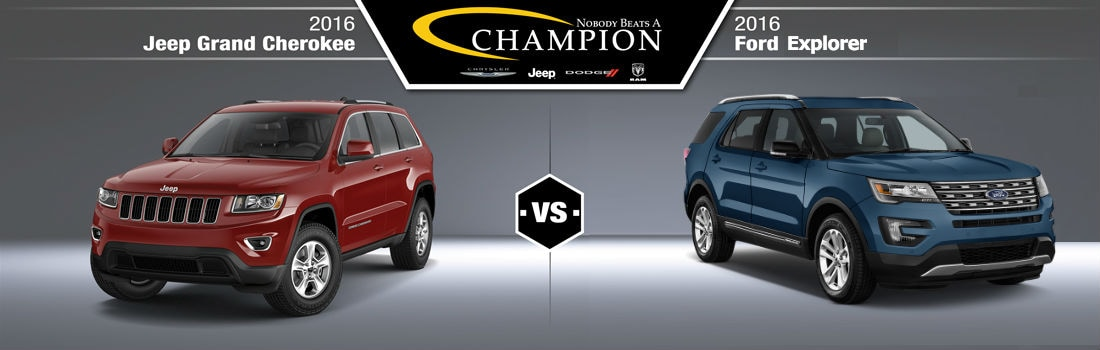 /grand cherokee vs ford explorer