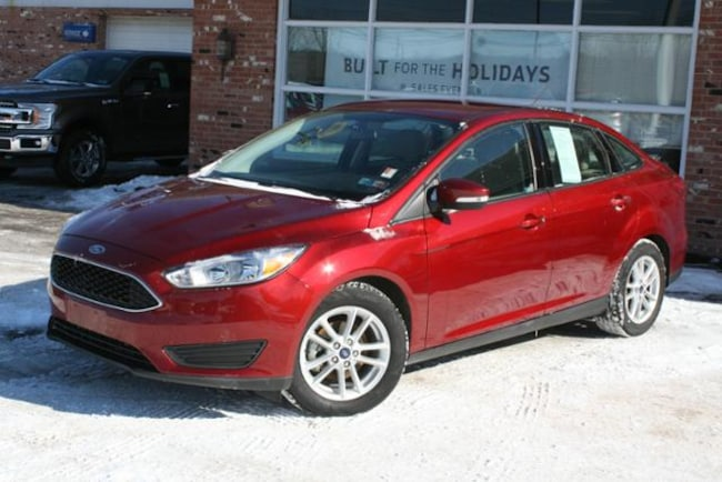 2016 Ford Cars >> Used 2016 Ford Focus For Sale At Champion Ford Edinboro Vin