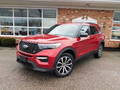New 2020 Ford Explorer ST 400A w/ Premium Technology Pkg & Twin Moonroofs SUV / Crossover for sale in Edinboro, PA