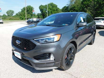 New 2019 Ford Edge ST 401A w/ Navigation, Twin Panel Moonroof, Cold W SUV / Crossover For sale in Edinboro, PA