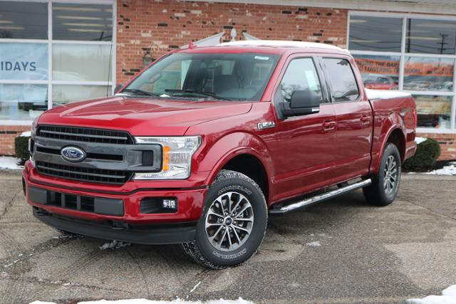 New 2018 Ford F-150 XLT Luxury 302A w/ Navigation & Sport Appearance Pkgs. SuperCrew SWB 4x4 / 4WD 2.7L V6 EcoBoost  Truck For sale in Edinboro, PA